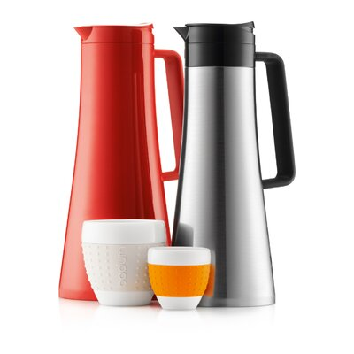 Bodum Bistro Thermo Jug in Red
