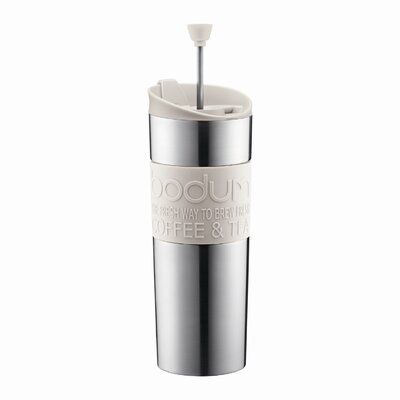 Bodum Bistro 15 Ounce Insulated Stainless-Steel Travel Press