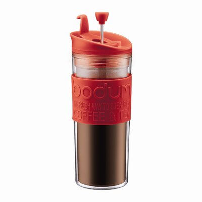 Bodum Bistro 15 Ounce Insulated Plastic Travel Press