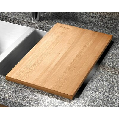 "Julien 12"" x 17.25"" Hard Rock Maple Wood Cutting Board"
