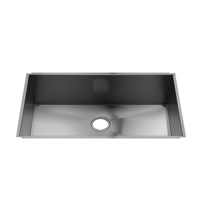 "Julien UrbanEdge 34"" x 19.5"" Undermount Stainless Steel Kitchen Sink"