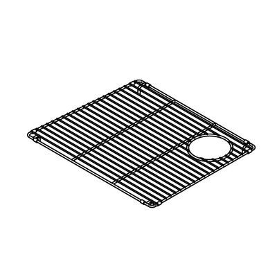 "Julien Trapezoid 18"" x 15"" Electropolished Grid for 19''x16'' Sink Bowl"