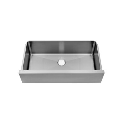 "Julien Classic 36"" x 20.25"" Single Bowl Farmhouse Kitchen Sink"