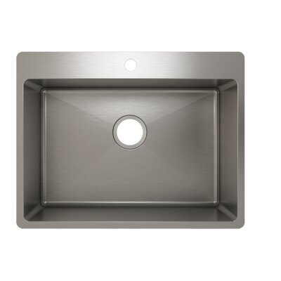 "Julien J18 24"" x 16"" x 10"" Topmount Kitchen Sink"