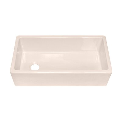 "Julien F140 36"" x 18.13"" Farmhouse Single Bowl Kitchen Sink"