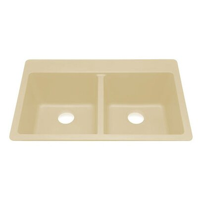 Q100 Topmount Double Bowl Kitchen Sink