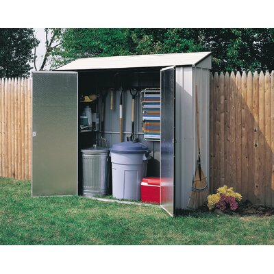 "Arrow 7' W x 2'1.5"" D Steel Learn-To Shed"