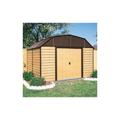 Woodhaven 10' W x 14' D Steel Storage Shed