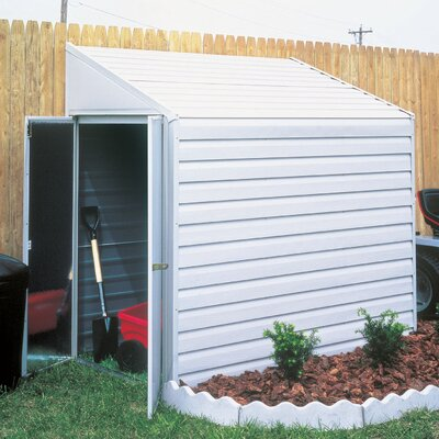 Yardsaver 4' W x 7' D Steel Storage Shed