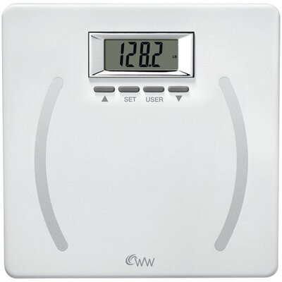 Weight Watchers Plastic Body Fat Scale
