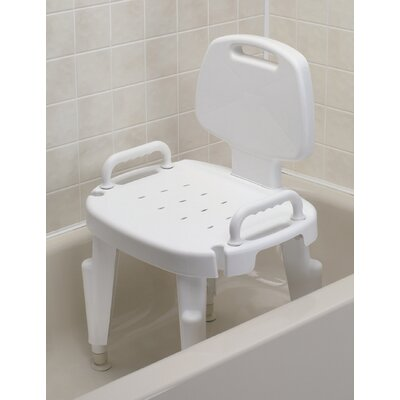 maddak adjustable shower chair with arms and back reviews wayfair