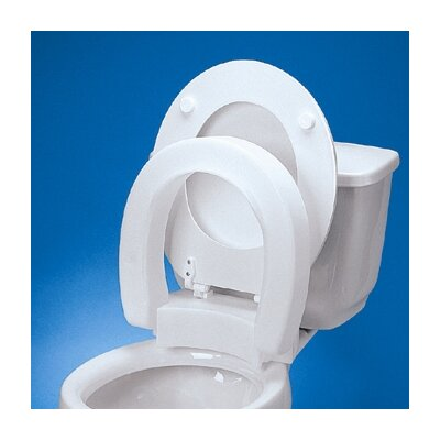 Maddak Elongated Hinged Raised Toilet Seat Reviews Wayfair