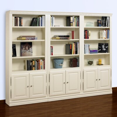"A&E Wood Designs Hampton 84"" Bookcase"
