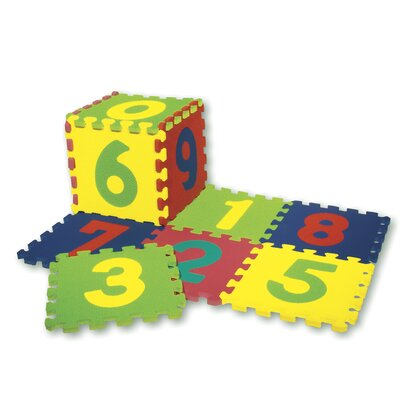 Chenille Kraft Company WonderFoam Numbers Puzzle Mat