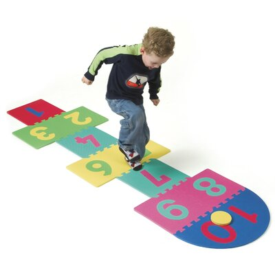 Chenille Kraft Company WonderFoam Hopscotch Mat