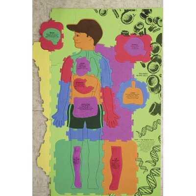 Chenille Kraft Company WonderFoam Giant Our Body Activity Puzzle