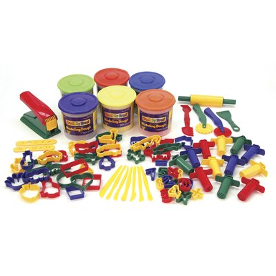 Chenille Kraft Company Colossal Crafts Super Value Dough & Tools Box