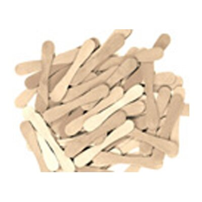Chenille Kraft Company Craft Spoons 900 Pieces Natural