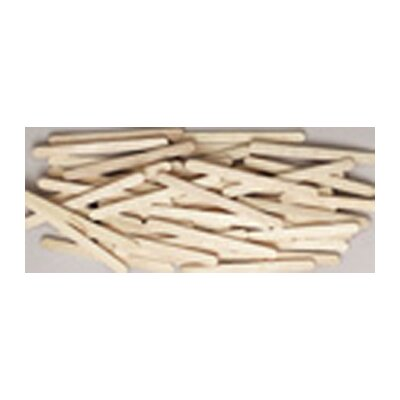 Chenille Kraft Company Craft Sticks Natural Color 150/pk