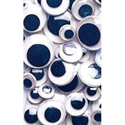 Chenille Kraft Company Wiggle Eyes Asst Size 100 Black