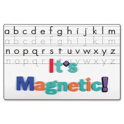 "Chenille Kraft Company Magnetic 9"" x 1' Whiteboard"