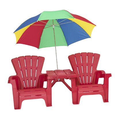 Kid's Adirondack Chair Set