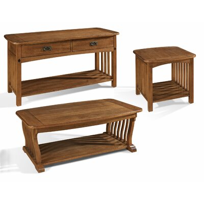 Craftsman Coffee Table Set