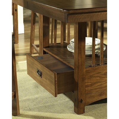 Somerton Dwelling Craftsman Counter Height Table