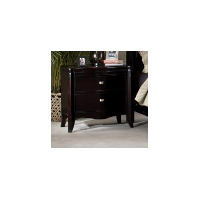 Somerton Dwelling Signature 2 Drawers Nightstand