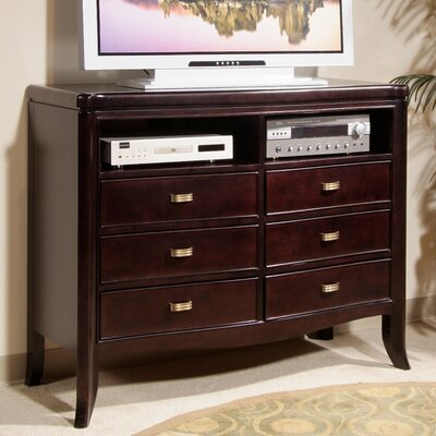 Somerton Signature 6 Drawer Media Chest