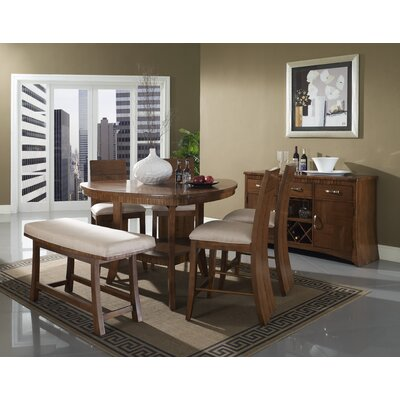 Somerton Dwelling Milan 6 Piece Counter Height Dining Set