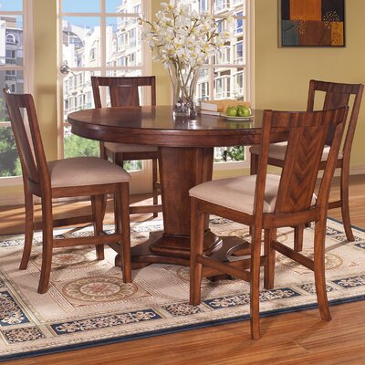 Somerton Dwelling Runway 5 Piece Counter Height Dining Set