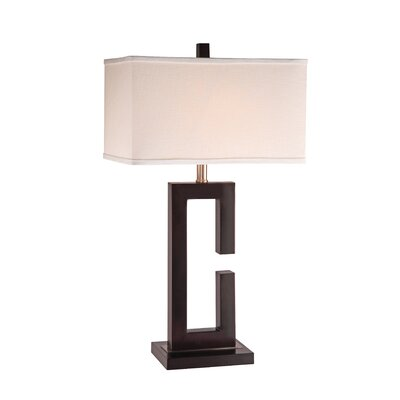 "Anthony California Metal 28"" H Table Lamp"