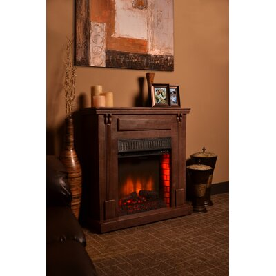Bond Manufacturing Rustic Indoor Electric Fireplace