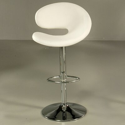 "Pastel Furniture Gilbraltar 30"" Barstool in Chrome"