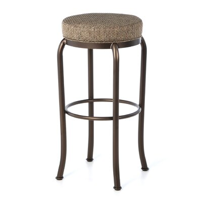 Woodhaven Swivel Barstool in Espresso Annigre