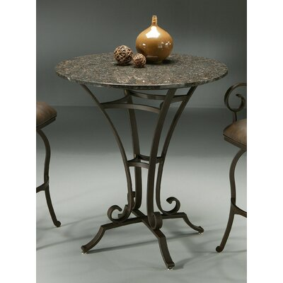 Pastel Furniture Athena 40&quot; Copperstone Pub Table Set