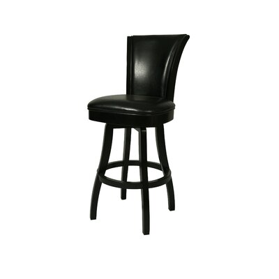 "Pastel Furniture Glenwood 30"" Leather Barstool without Arms"