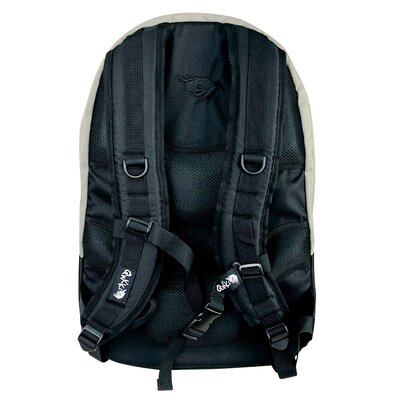 "QNKKI 17"" Laptop Backpack in Chive and Grey"