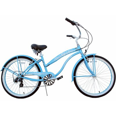 Greenline Bicycles 7-Speed Beach Cruiser
