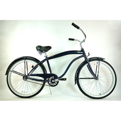 Greenline Bicycles Men's Single Speed Premium Beach Cruiser