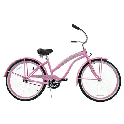Greenline Bicycles Women's Single Speed Premium Beach Cruiser