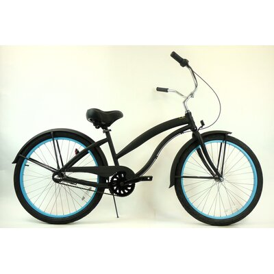 Greenline Bicycles Women's 3-Speed Aluminum Beach Cruiser
