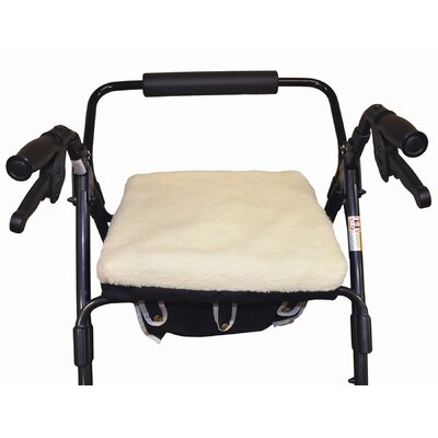 Complete Medical Comfort Rollator Cushion with Fleece Cover