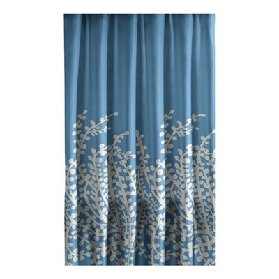 City Scene Branches Cotton Shower Curtain