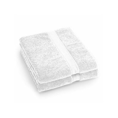 City Scene Supreme Egyptian Cotton Bath Sheet in White (Set of 2)