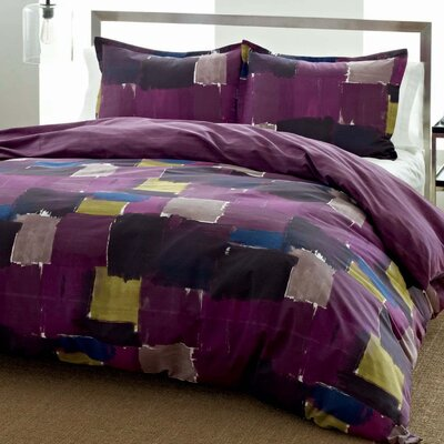 City Scene Color Block Duvet Set