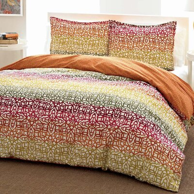 City Scene Fiesta Stripe Duvet Set