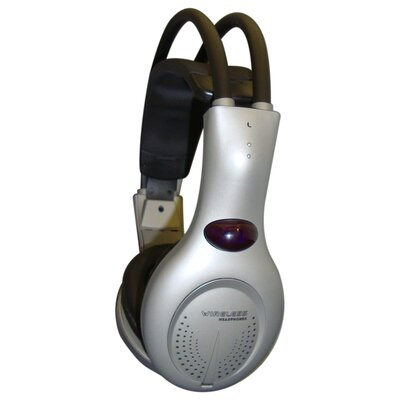 Avid Infrared Headphones in Silver