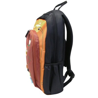 Three Jewel Backpack in Orange